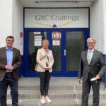 Unternehmensbesuch bei GXC Coatings