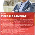 Wofür ich stehe – meine Ziele als Landrat des Landkreises Goslar